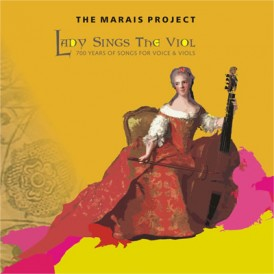 Lady Sings the viol CD cover